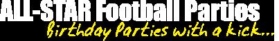 All Star Football Parties header